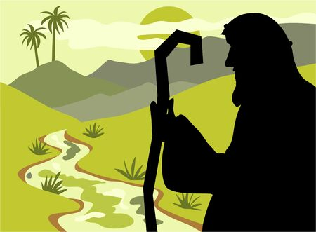 shepherd: shepherd silhouette