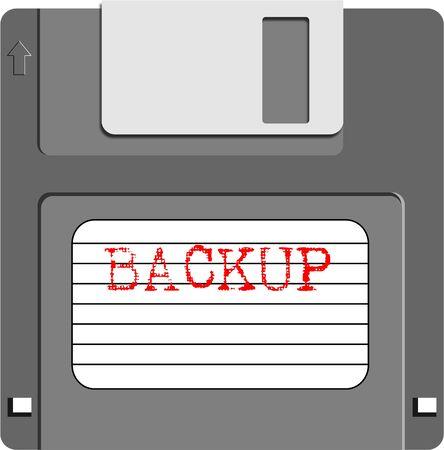 floppy: backup floppy Stock Photo