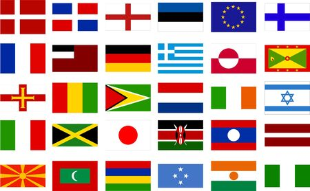 gree: world flags - collection 2