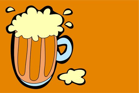 frothy: frothy beer