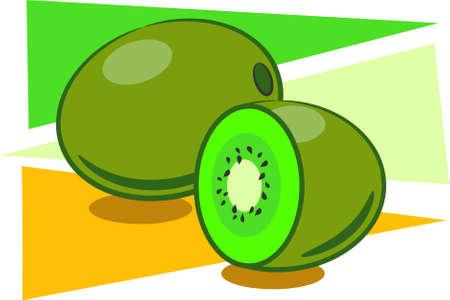 kiwi fruit Imagens