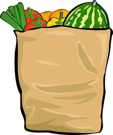bolsa supermercado: bolsa de supermercado