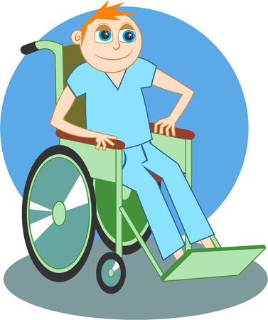 boy in a wheelchair photo