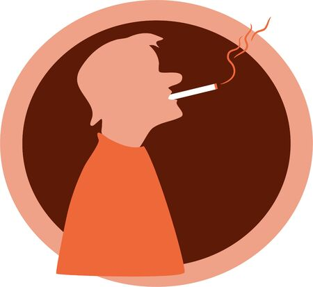 smoker: smoker Stock Photo