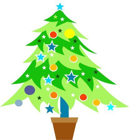 Christmas tree Stock Photo - 244426
