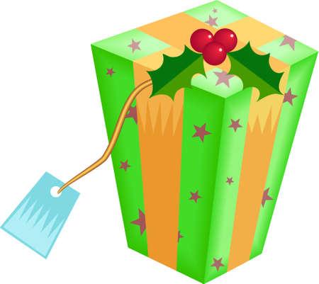 giftbox: Christmas giftbox Stock Photo