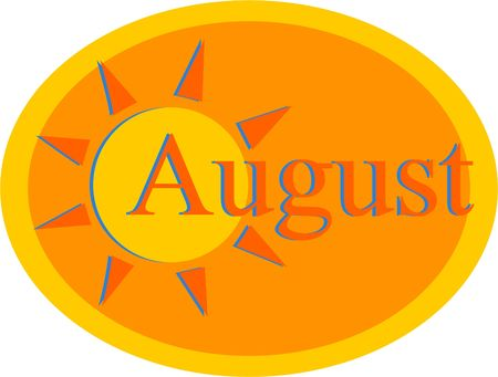 august: hot august