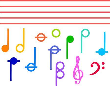 pictogrammes musique: musique ic�nes