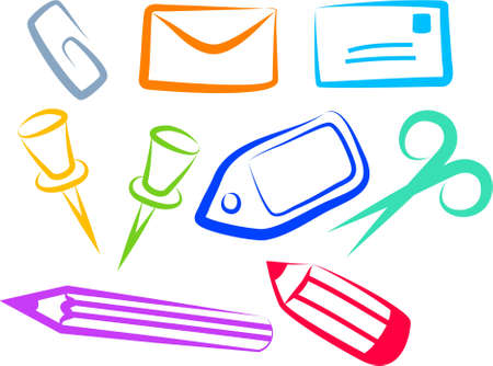 office icons Stock Photo - 244999