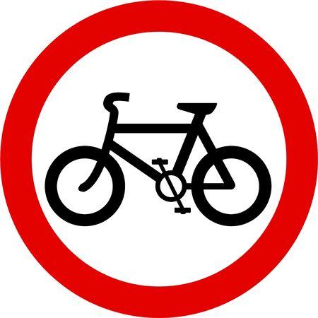 no cycling photo