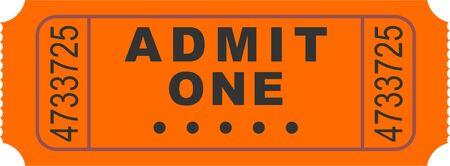 admittance: entry ticket