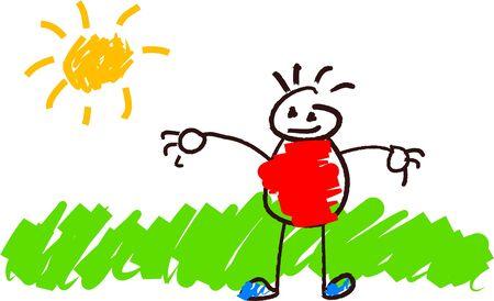 kids drawing: kids drawing
