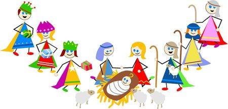 joseph: nativity kids