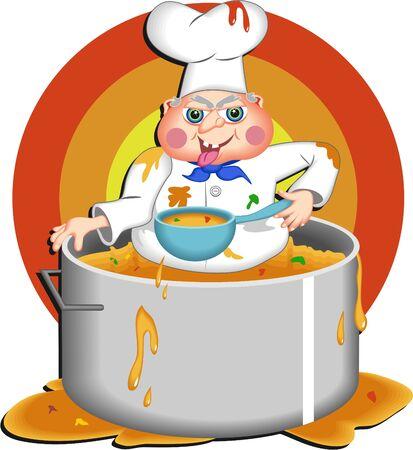 greedy chef