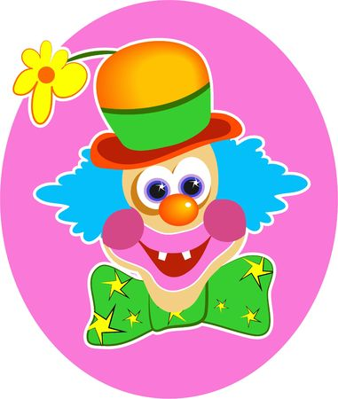 circus clown: mr clown Stock Photo