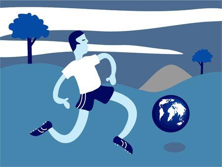 soccer globe photo