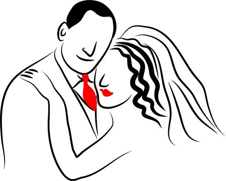 life event: bride and groom