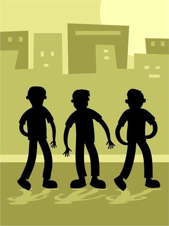 malandros: Ni�os de la calle