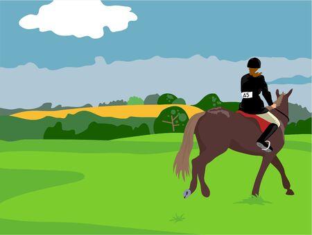 mujer en caballo: mujer caballo