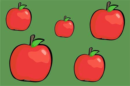 crispy: crispy red apples