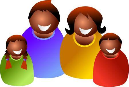 mixed family: ethnic family