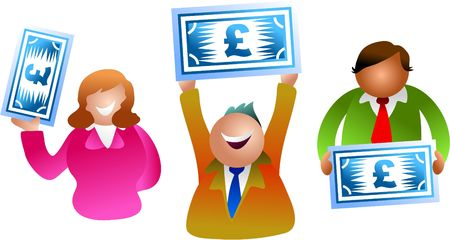 pound people Stock Photo - 282493