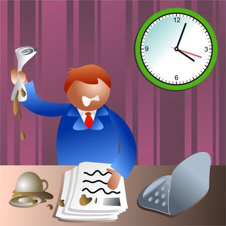 stressed executive Stock Photo - 286782