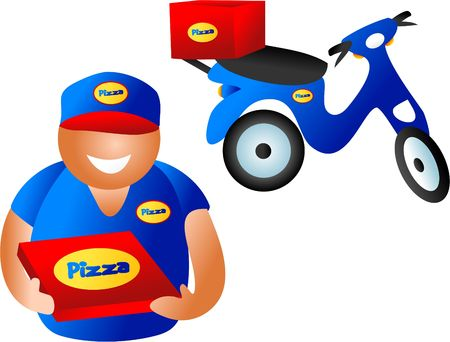 pizza delivery Stock Photo - 286749