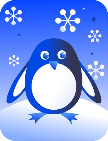 retro penguin Stock Photo - 290215
