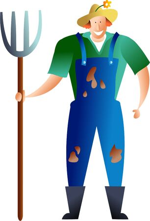 countryman: farmer Stock Photo