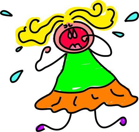 tantrums: tantrum kid - serie bambino arte