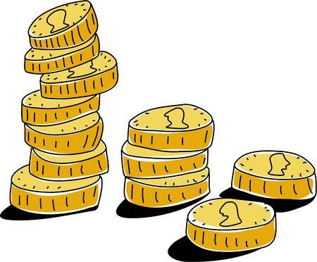 montones de dinero Foto de archivo - 391277