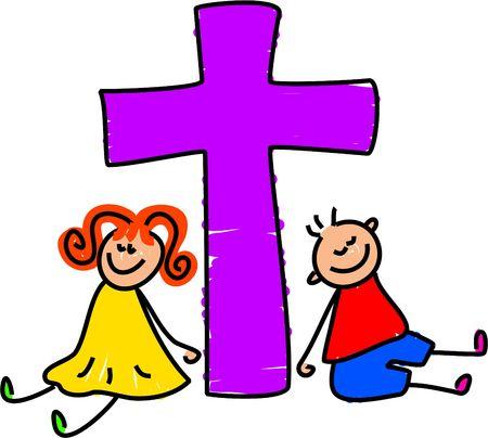 saviour: Christian kids - toddler art series