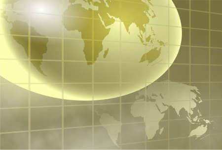 golden globe background design Stock Photo - 402085
