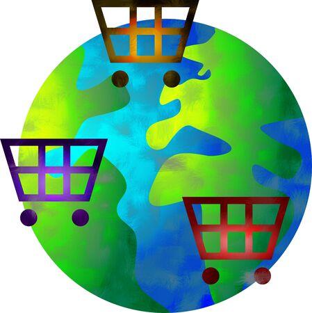 shopping world Stock Photo - 414674