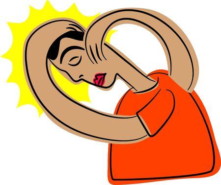stressful: headache