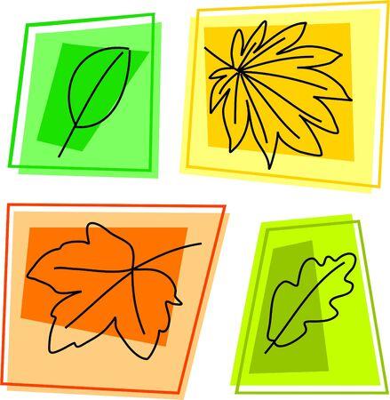 sycamore leaf: fall leaf icons