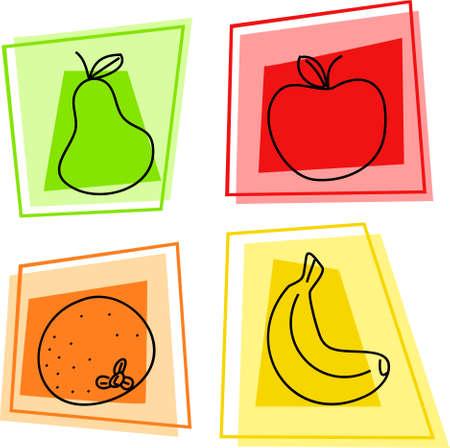 edibles: frutta icone