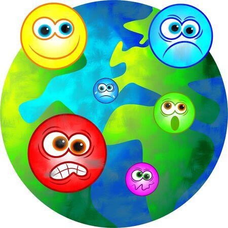 emotional world Stock Photo - 449196
