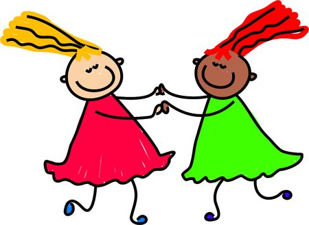 mates: friendship - toddler art series