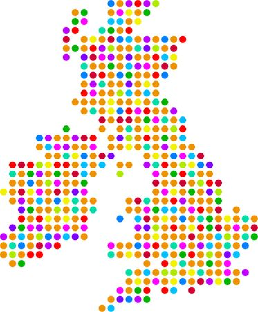 isles: uk dot map