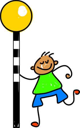 zebra crossing: zebra crossing kid