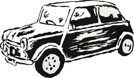 dessin d'une voiture Banque d'images - 583804