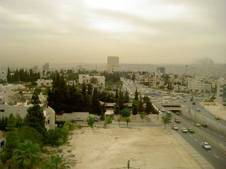 middle east: city of Amman in Jordan, Middle East