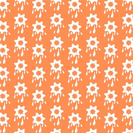 patterned wallpaper: decorative abstract retro patterned wallpaper background design Stock Photo