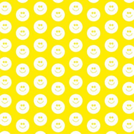 patterned wallpaper: decorative smilie face patterned wallpaper background design