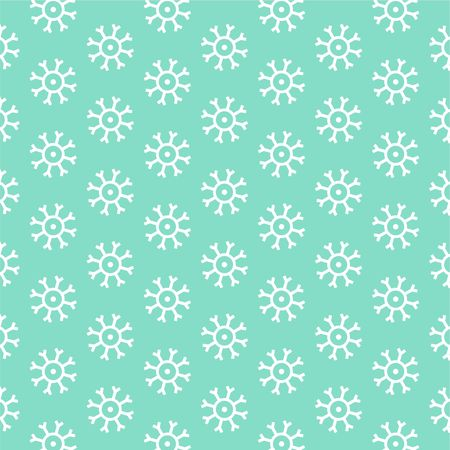 patterned wallpaper: decorative abstract snowflake patterned wallpaper background design