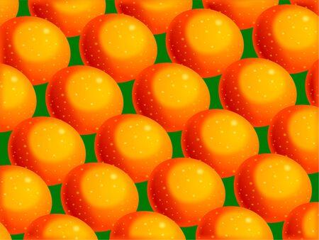 prawny: Vibrant juicy citrus orange wallpaper background design.