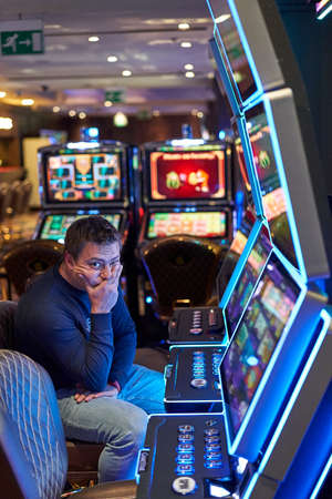 Man disappointed by casino loss