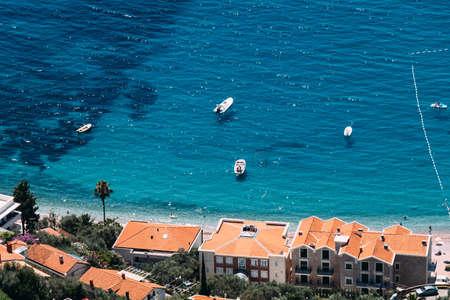 driatic coast in Montenegro beach